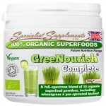 GreeNourish complete organic nutrition powder